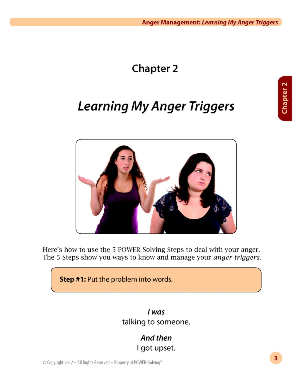 Workbooks anger workbook : Read Sample Selections of the POWER-Solving® Curriculum | POWER ...